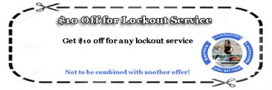 $10 Off – Lockout Service