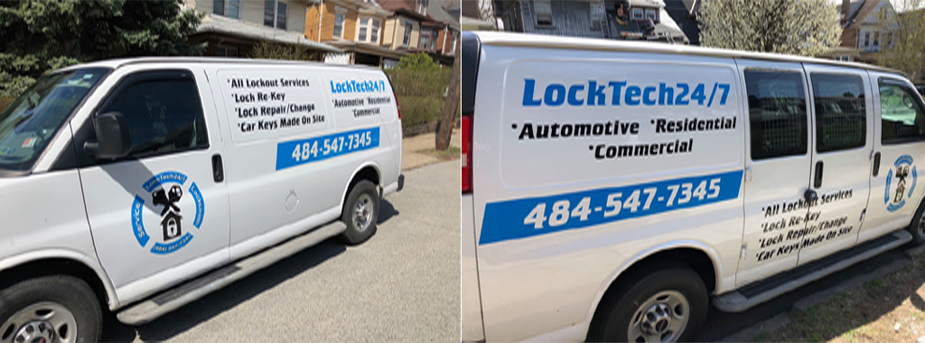 locksmith's van
