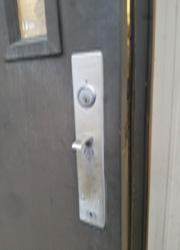 Rim Lock Re-key