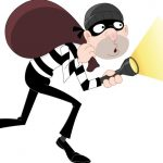 burglars home made spare key