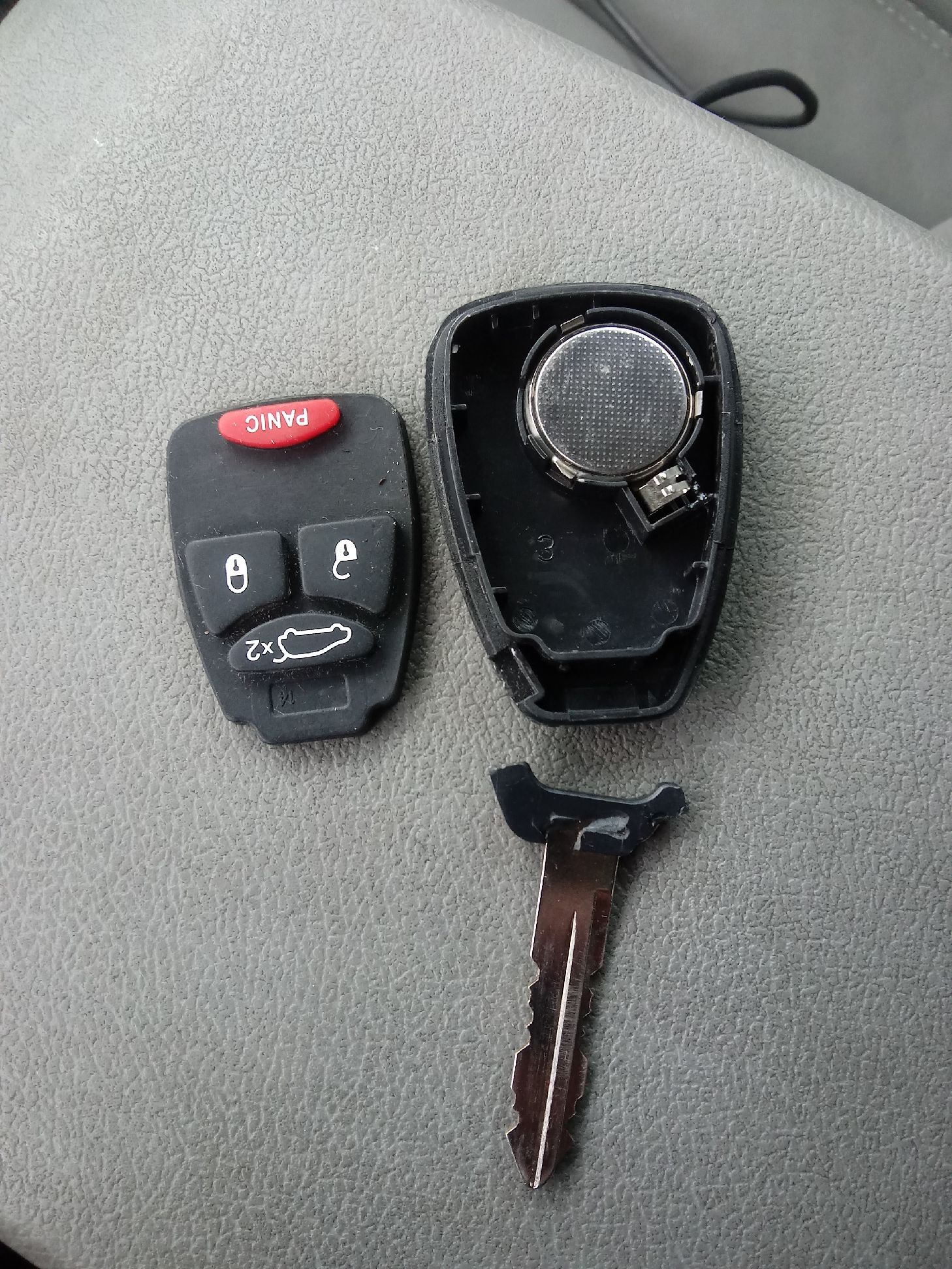 Broken Car Key Head Remote Replacement