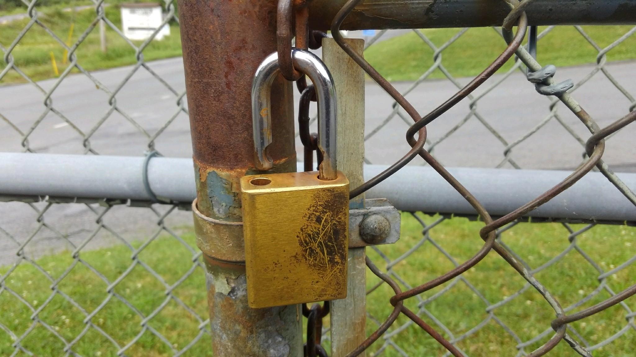 padlock re-key