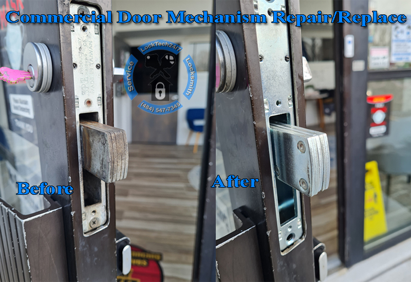 Commercial Door Mechanism Repair