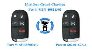 Jeep Grand Cherokee Key Fob PN