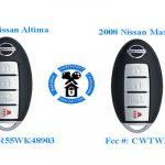 Nissan Key Fob FCC